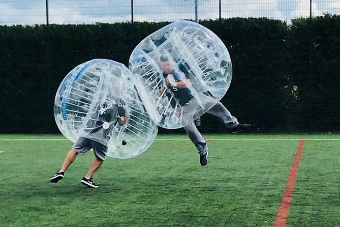 1-Hour Bubble Football Experience in Reading