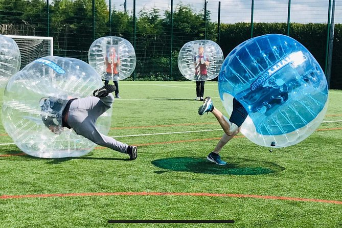 Private Bubble Zorb Football Activity in Liverpool