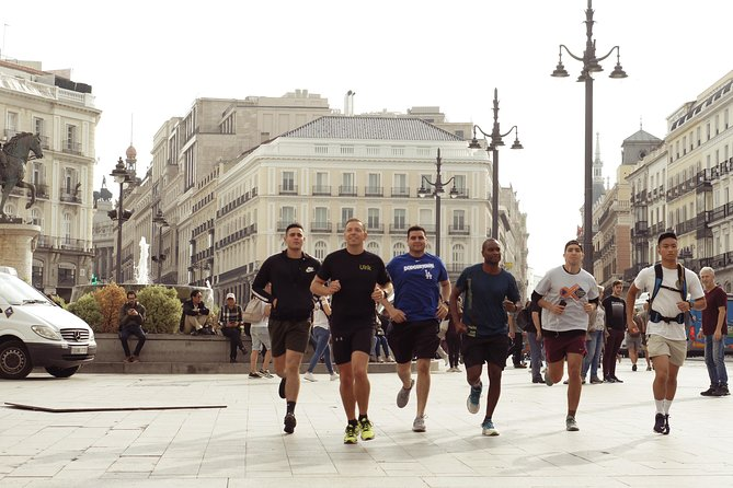 Private 2-Hour Running Tour of Madrid