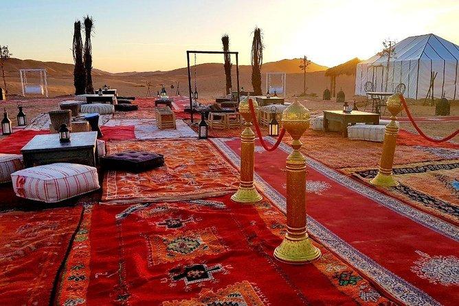 Private 4-Day Tour from Marrakech to Merzouga Desert