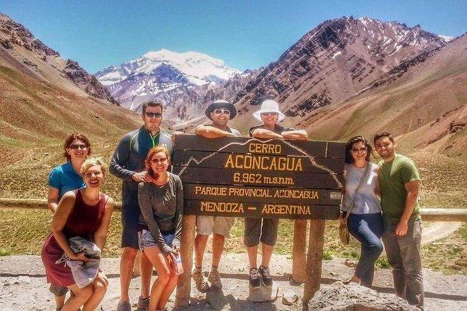 Excursão para grupos pequenos pelos Andes, Aconcágua, saindo de Mendoza, com almoço de churrasco