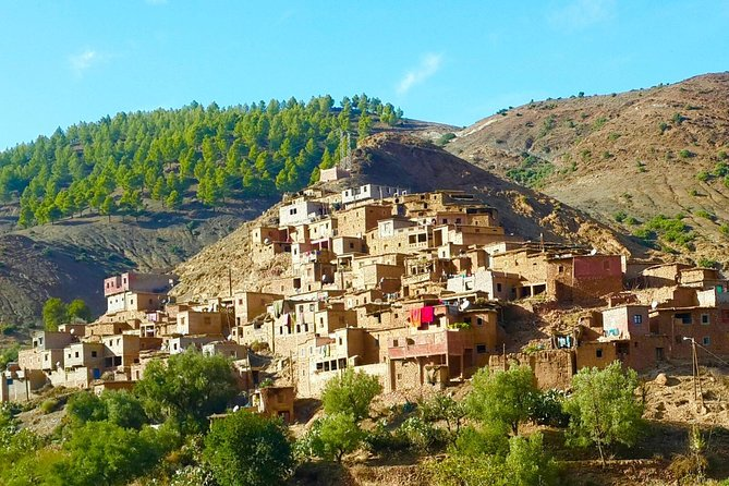 Full-Day Marrakech to Ourika Valley Private Tour with Pick Up