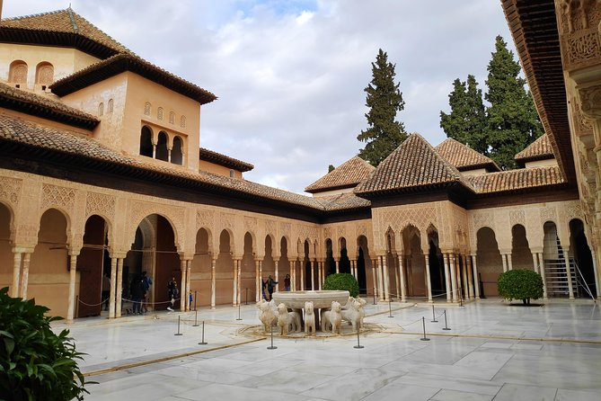 Excursion to Granada with guided visit to the Alhambra from Almería