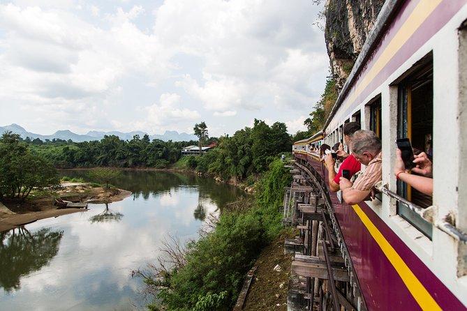 Bridge on the River Kwai-tour inclusief tour naar de Birma-spoorlijn