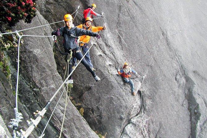 2-Day Mount Kinabalu Climb via Ferrata Low Peak Circuit