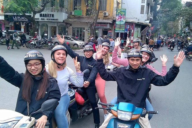 Cuisine tour: beer, Street foods, Traditional foods, Walking, Motorbike