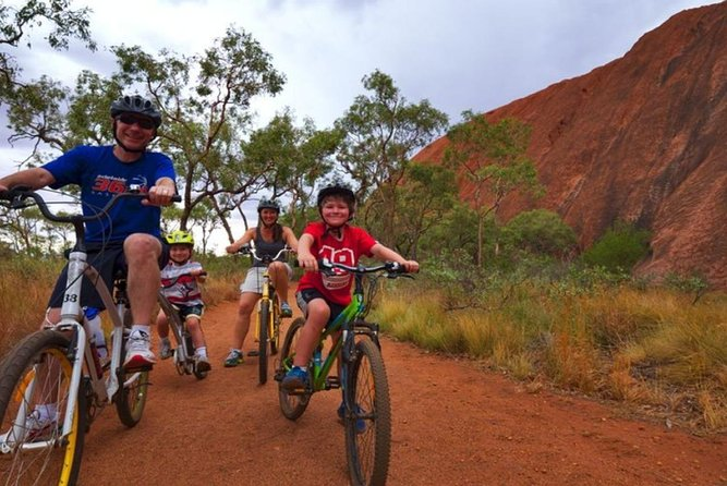 From Yulara: Discover Uluru 4.5 Hours Bike Tour