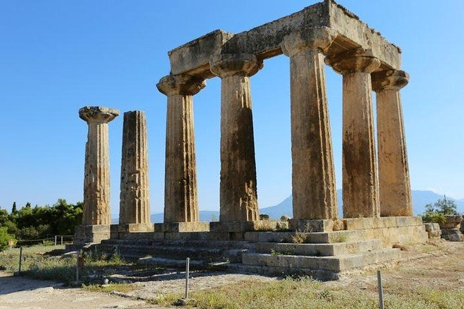 Corinth & Swimming with Helen of Troy Private Tour from Athens