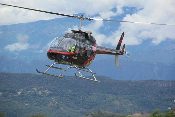 Marmoleo restaurant helicopter tour.