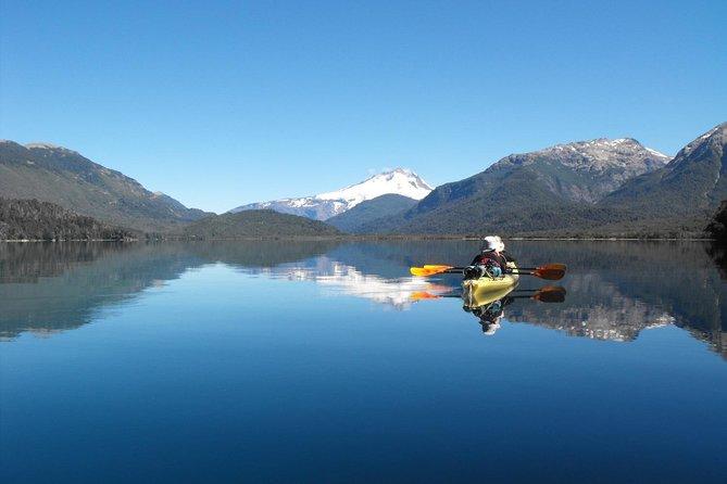 Kayaking in Gutierréz Lake