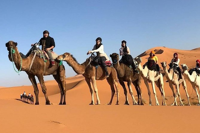 4-Days Sahara Desert Private Tour from Marrakech to Fes