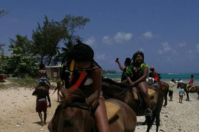 Ocho Rios Horseback Riding Blue Hole Falls Tubing and Rafting