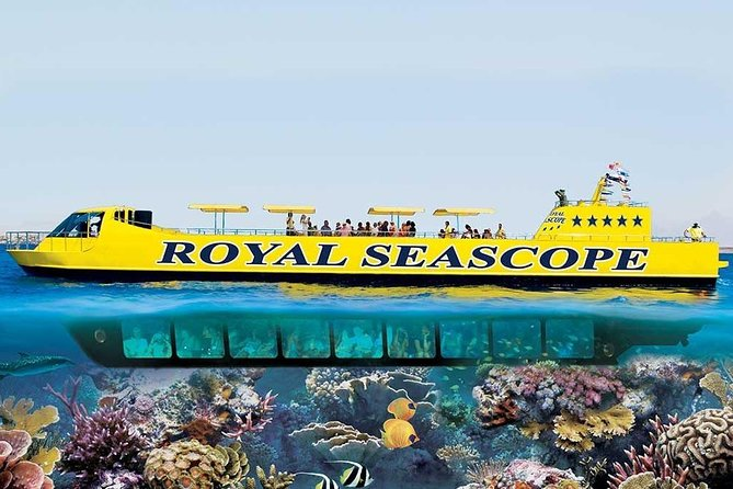 Half-Day Seascope Trip Hurghada Red Sea