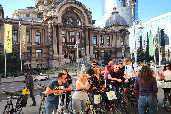 Bucharest Crash Course - Old Town Bike Tour