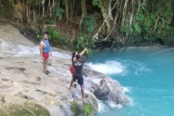 Private Horseback Riding, Blue Hole, River Tubing, and Rafting Combo Excursion