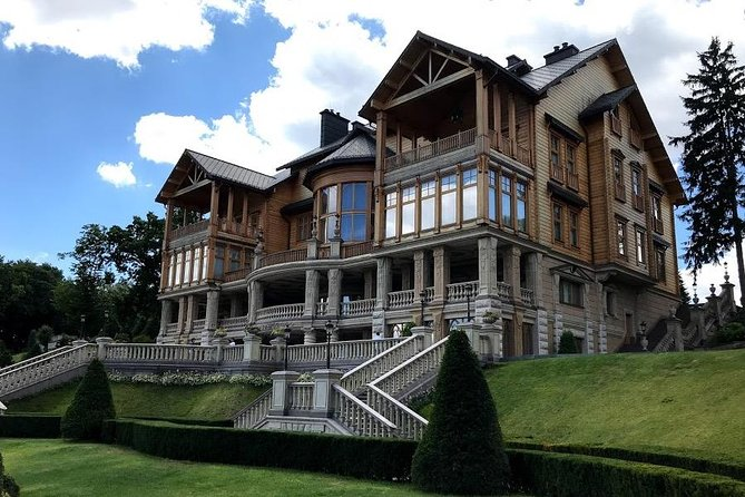 Guided Tour of Mezhyhirya Residence with Entry Ticket