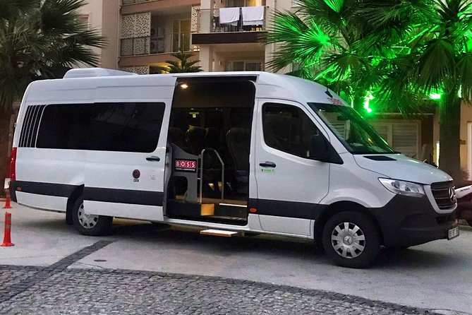 İzmir Airport To Kusadasi (16seats) Private Minibus Transfer
