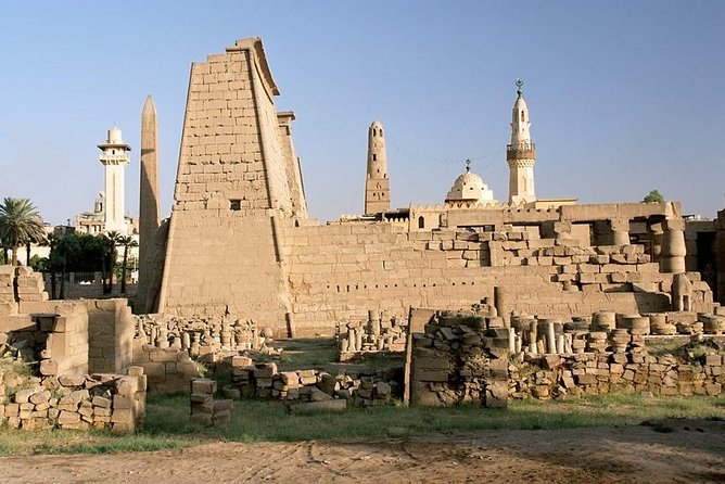 East Bank with Karnak and Luxor Temple Private Half-Day Tour