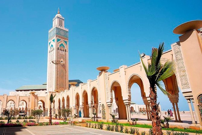 Casablanca Hassan II Mosque Guided Visit with Hotel Pickup