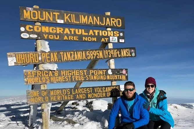 8-Day Kilimanjaro Guided Hiking Adventure by the Marangu Route