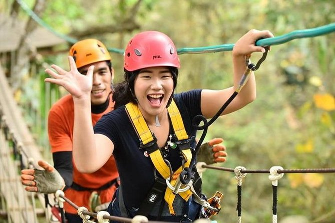 Chiang Mai Zipline White Water Rafting and Elephant Sanctuary