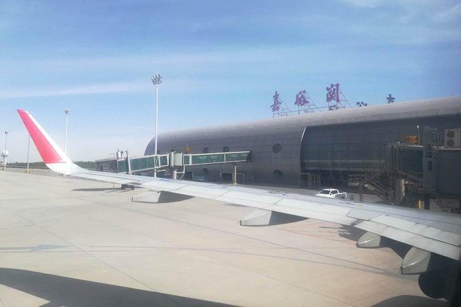 Private Jiayuguan Airport Arrival Transfer to City Hotels