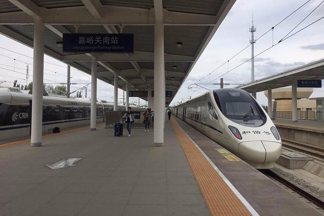 Jiayuguan Railway Station Private Arrival Transfer to City Hotels