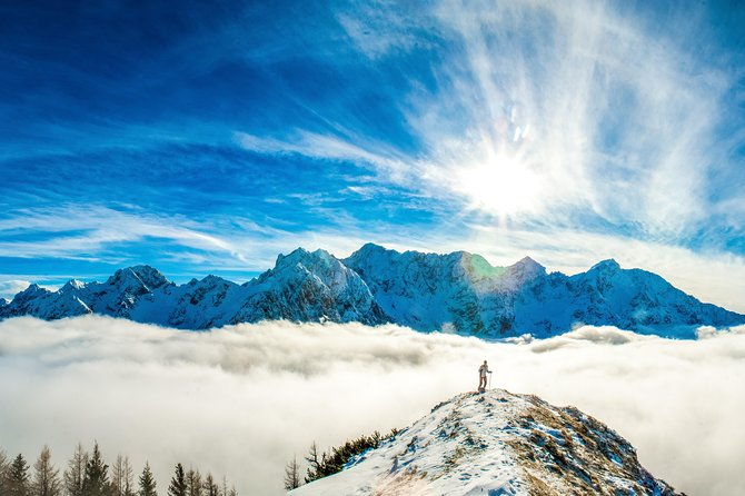 3-Hour Guided Snowshoeing Adventure in the Slovenian Alps