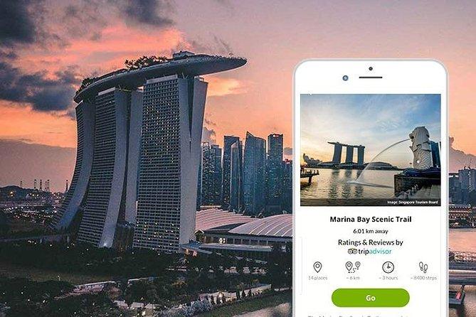 Marina Bay Mobile Self-guided Walking Tour (Singapore)
