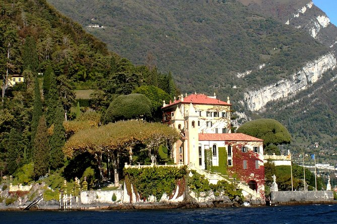 Private Full-Day Trip along Como Lake by Boat from Milan
