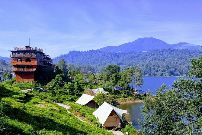 Full-Day Tour to Bandung White Crater,Lake and Tea Plantation