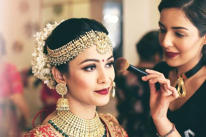 Half-Day Private Live Makeup Experiences of Indian Bridal