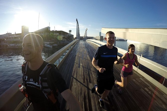 2 Hours Running Tour in Barcelona with Local Guide