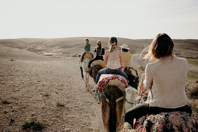 Full-Day Desert Agafay Guided Sightseeing Tour with Camel Ride