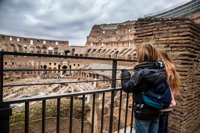 Tour For Kids Colosseum and Ancient Rome Semi-Private Skip The Line Tour