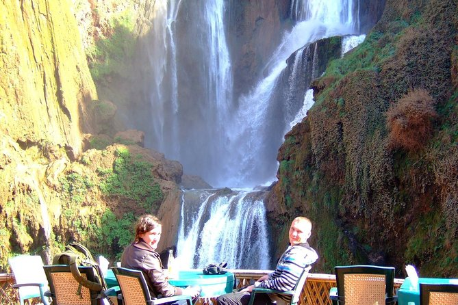 Full-Day d'Ouzoud waterfalls and ImiNifri Bridge Private Tour