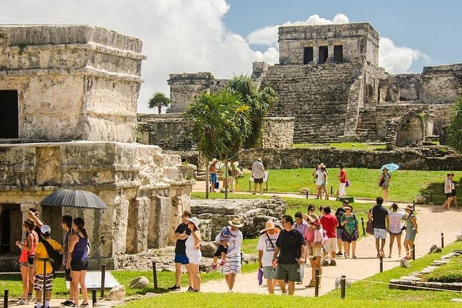 Full-Day Coba Tulum Cenote and Playa del Carmen Tour