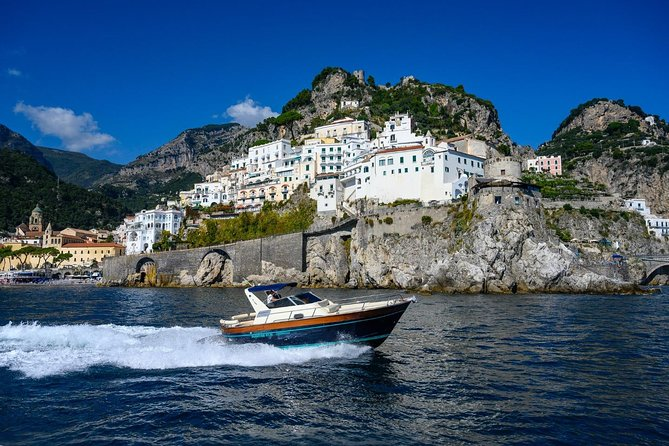 Positano and Amalfi Day Cruise