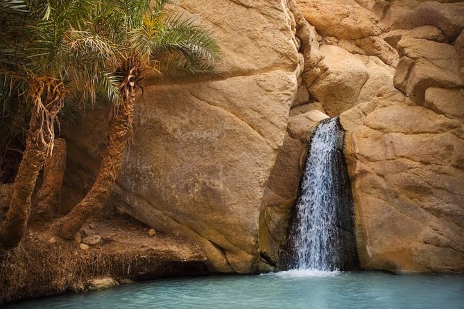 Tozeur Private Half-Day Tour: Tamerza, Chebika and Mides Canyons