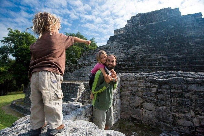 Full-Day Mahahual and Chacchoben Ruins Tour from Cancun