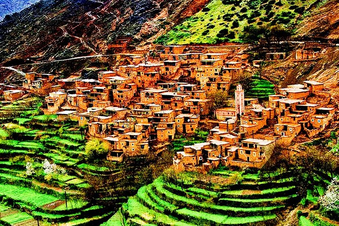 Atlas mountain & the three valleys waterfall full day guided tour from Marrakech