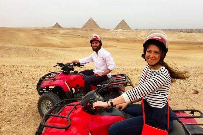 Half-Day Giza Desert Safari Private Quad Biking Tour
