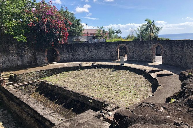St Pierre ruins