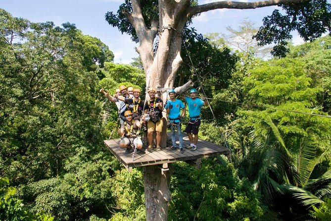 4-Hour Guided Ziplining Adventure in Patong from Phuket