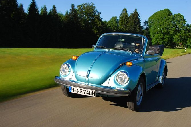 VW Beetle sprookjeskoningentocht