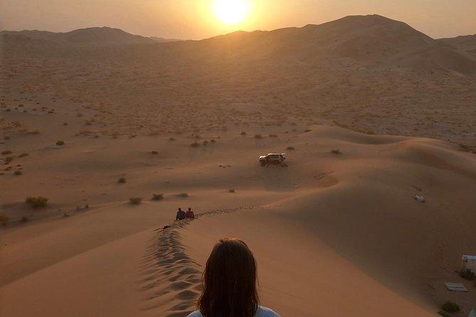 Full Day Desert and Sunset Tour in the Empty Quarter Desert