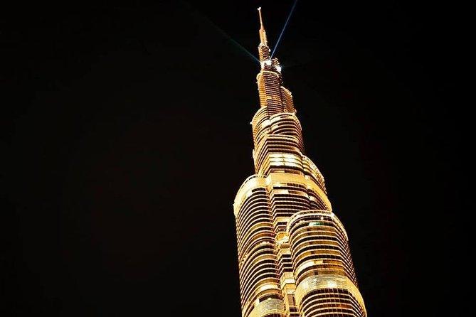 Dubai City Tour at Night with Burj Khalifa Ticket