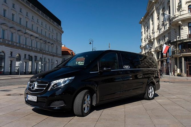 Luxury Warsaw Chopin Airport Transfer by private Minivan car