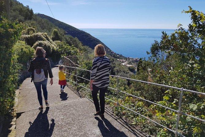 Private Cinque Terre Walking Tour from Anzo-Setta with pesto class