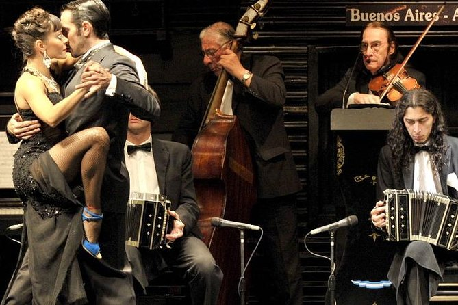 City Tour Buenos Aires with Dinner Tango Show in La Ventana